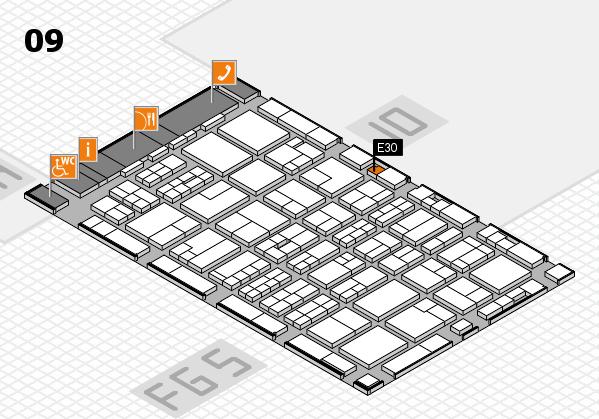 MEDICA 2016 hall map (Hall 9): stand E30