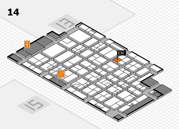 MEDICA 2016 Hallenplan (Halle 14): Stand E30