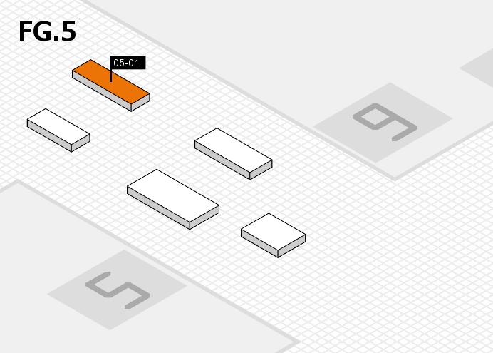 MEDICA 2016 hall map (OA Hall 5): stand 05-01