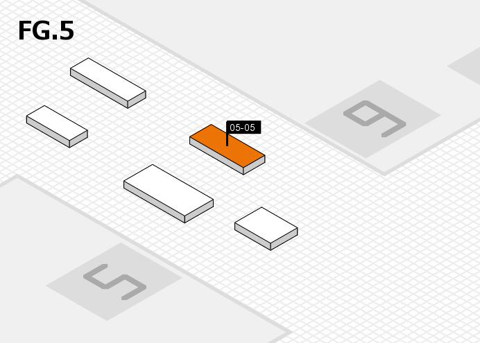 MEDICA 2016 hall map (OA Hall 5): stand 05-05