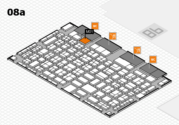 COMPAMED 2017 Hallenplan (Halle 8a): Stand M01