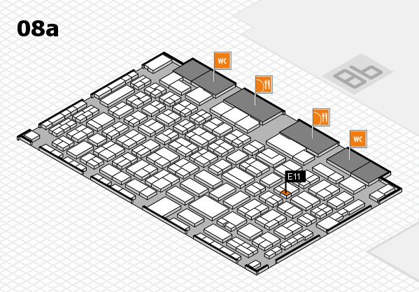 COMPAMED 2017 Hallenplan (Halle 8a): Stand E11