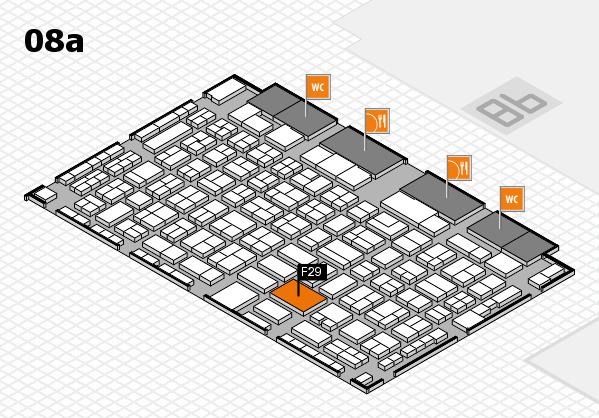 COMPAMED 2017 Hallenplan (Halle 8a): Stand F29