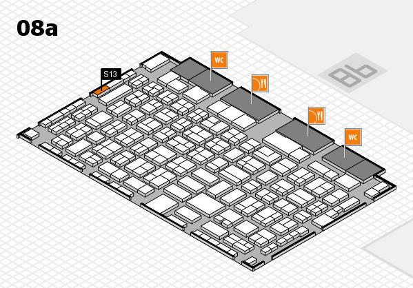 COMPAMED 2017 Hallenplan (Halle 8a): Stand S13