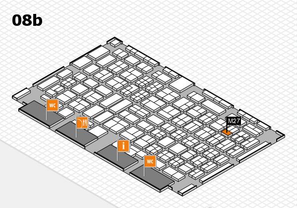COMPAMED 2017 Hallenplan (Halle 8b): Stand M27