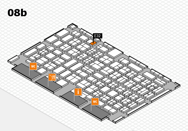 COMPAMED 2017 Hallenplan (Halle 8b): Stand E32