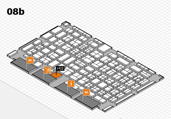 COMPAMED 2017 Hallenplan (Halle 8b): Stand H02