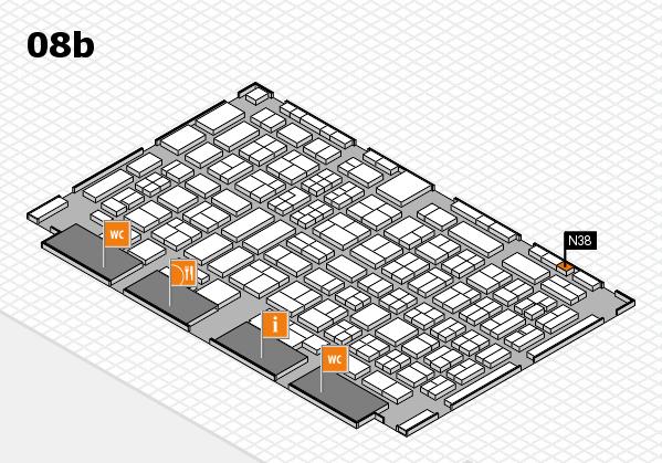 COMPAMED 2017 Hallenplan (Halle 8b): Stand N38