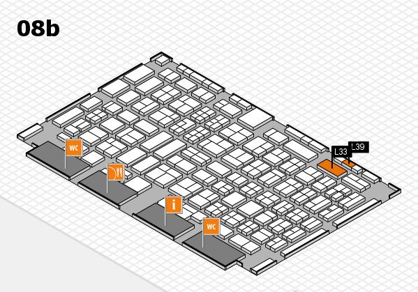 COMPAMED 2017 Hallenplan (Halle 8b): Stand L33, Stand L39