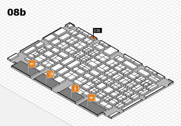 COMPAMED 2017 Hallenplan (Halle 8b): Stand E38
