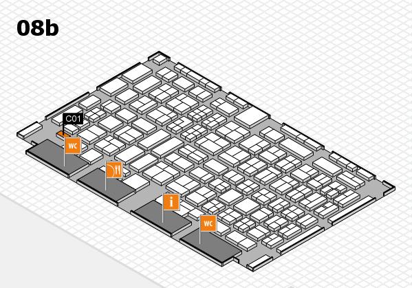 COMPAMED 2017 Hallenplan (Halle 8b): Stand C01