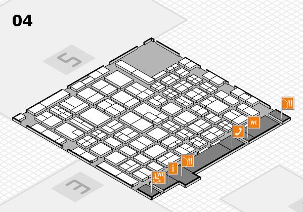 MEDICA 2017 hall map (Hall 4): stand F25