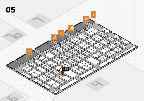 MEDICA 2017 hall map (Hall 5): stand L29