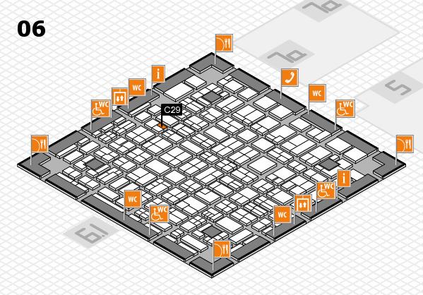 MEDICA 2017 hall map (Hall 6): stand C29