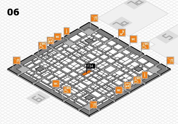 MEDICA 2017 hall map (Hall 6): stand F34