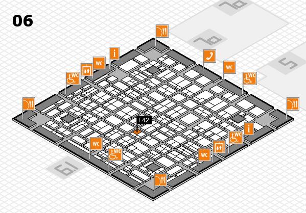 MEDICA 2017 hall map (Hall 6): stand F42