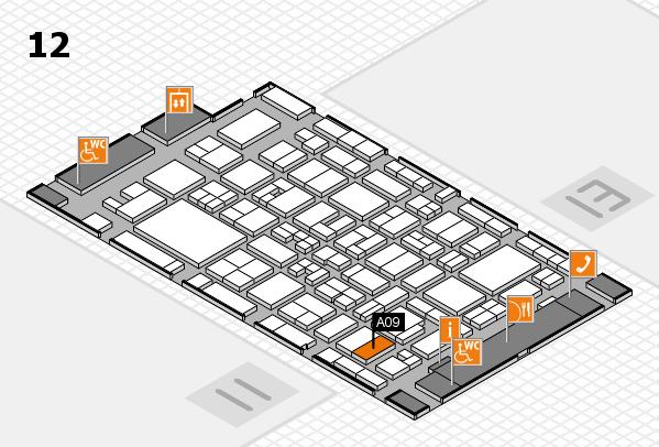 MEDICA 2017 Hallenplan (Halle 12): Stand A09