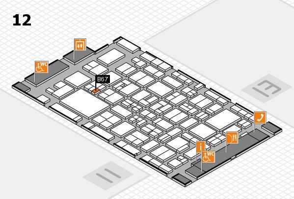 MEDICA 2017 hall map (Hall 12): stand A81
