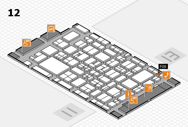MEDICA 2017 Hallenplan (Halle 12): Stand F09