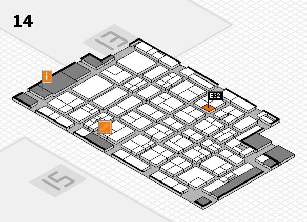 MEDICA 2017 Hallenplan (Halle 14): Stand E32