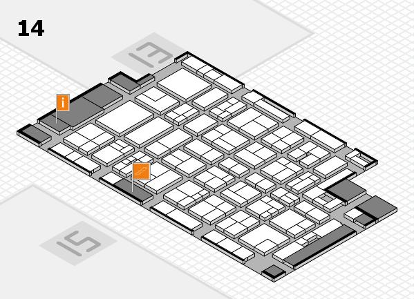 MEDICA 2017 Hallenplan (Halle 14): Stand E30