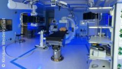 Bild: Operationssaal; Copyright: Klinikum Weiden/privat