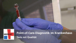 "Foto: Vorschaubild zum Video ""Point-of-Care-Tests im Krankenhaus"""