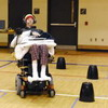 Quadriplegics Can Operate Powered Wheelchairs