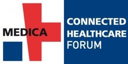 Bild: Logo MEDICA CONNECTED HEALTHCARE FORUM