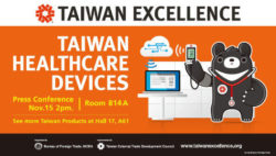 Bild: Banner von Taiwan Excellence; Copyright: Taiwan Excellence