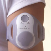Foto: Sensorband am Arm