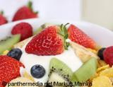 Photo: Yogurt with fruits