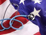 Photo: US flag and stethoscope