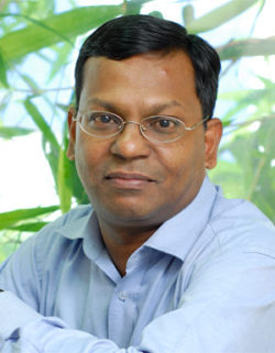 Foto: Muthu Singaram, CEO, Indian Institute of Technology Madras; Incubator & Founder VibaZone