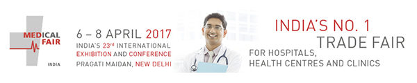 Kopfgrafik MEDICAL FAIR INDIA 2017