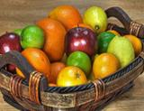 Photo: Basket with fruits