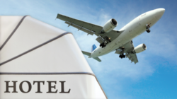Foto: Hotel and airplane