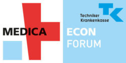 Logo MEDICA ECON FORUM by TK