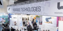 Bild: Banner der WEARABLE TECHNOLOGIES SHOW