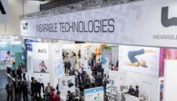 Foto: Stand der WEARABLE TECHNOLOGIES SHOW