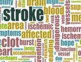 Graphic: Different words like stroke and heart