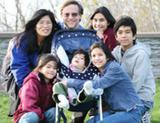 Photo: Familiy with five children