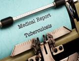 Photo: Medical Report Tuberculosis written on a typewriter