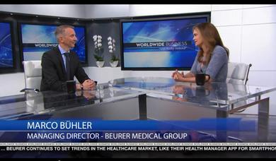 "Beurer im Interview bei ""Worldwide Business mit kathy ireland®"""