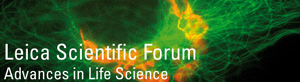 Logo des Leica Scientific Forums (Foto: Leica)
