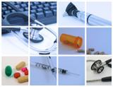 Photo: Collage of medical topics