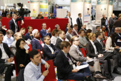 Foto: Gut besuchtes Auditorium beim MEDICA HEALTH IT FORUM