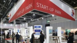 Bild: MEDICA START-UP PARK; Copyright: Messe Düsseldorf/ctillmann