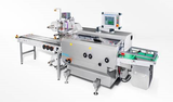 Rotary 4-side-sealing machine for wound dressings and medical devices