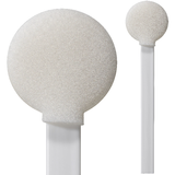 "71-4524: 8"" Overall Length Swab with Large Circular Foam Mitt and Polypropylene Handle"